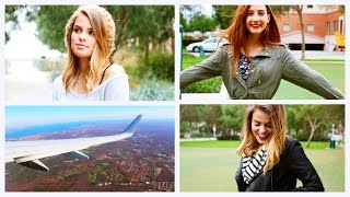 Fall / Winter Travel Outfits & What's In My Carry On!