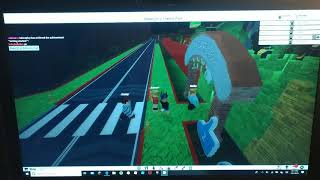 Playing Roblox on a laptop (wifi goes down lol)