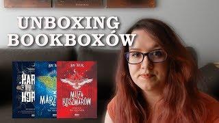 Unboxing bookboxów od SQN
