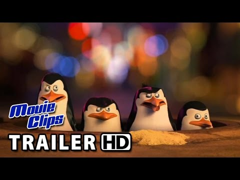 The Penguins Of Madagascar VIRAL VIDEO - Zooster Interview (2014) HD