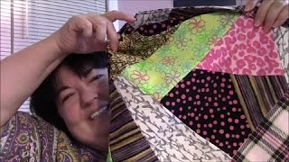 DIY Crazy Quilt Tote Bag Tutorial - Part 4: Putting it All Together