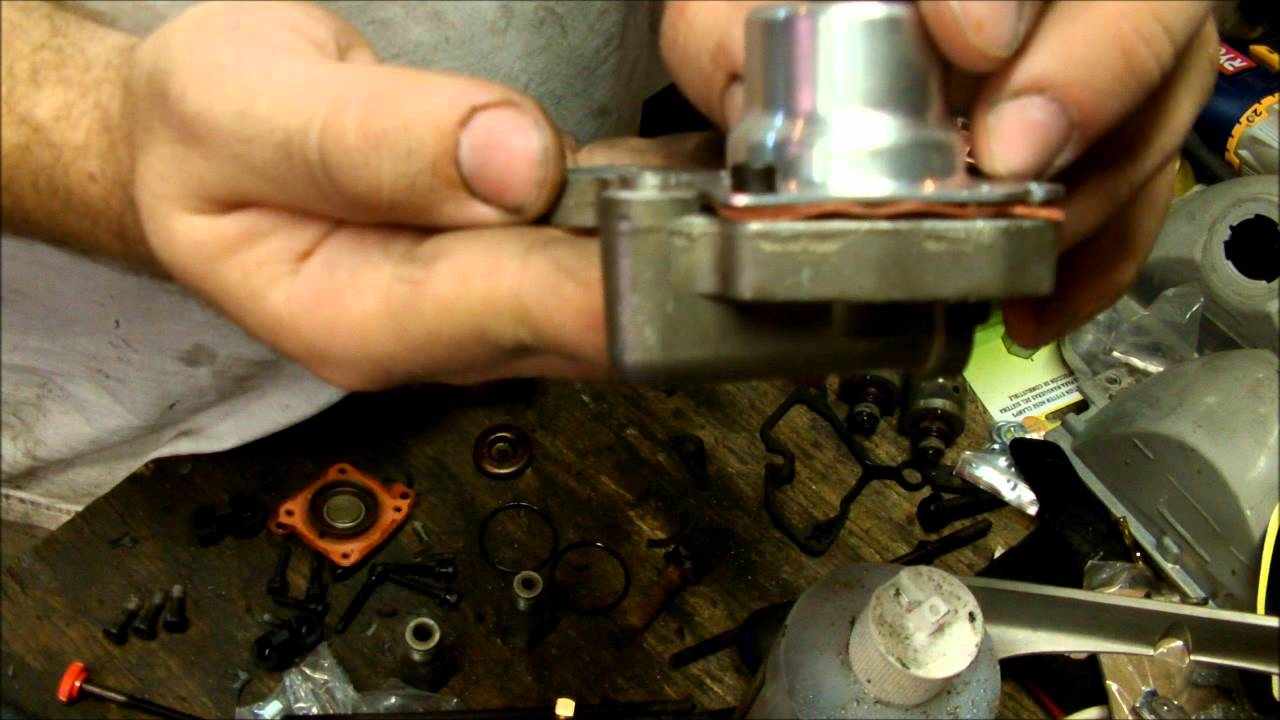 hight resolution of rebuilding and modifying a gm tbi fuel injection unit