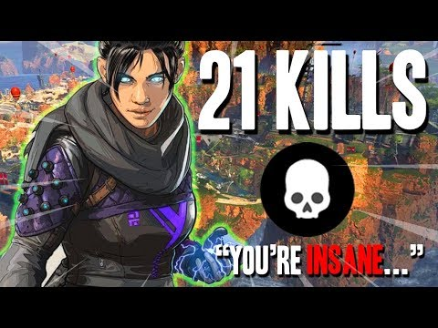 Dropping 21 BOMB For Teammates First Win! | Apex Legends Gameplay