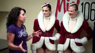 Mike & Kate With The Radio City Rockettes