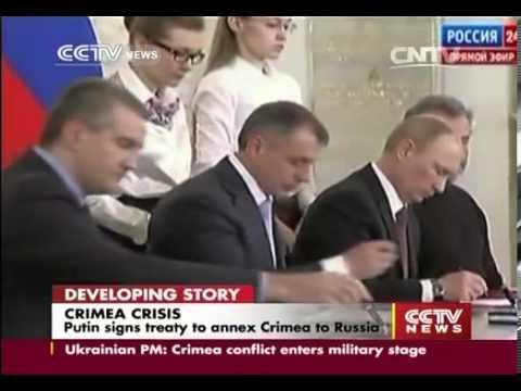 "Putin: Crimea finally returns to its ""home port"""