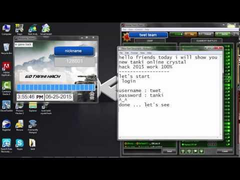 Tanki Online Crystal Hack 2015