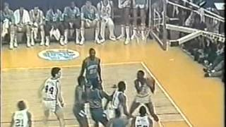 NCAA - FINAL 1982 - Georgetown vs North Carolina caly mecz