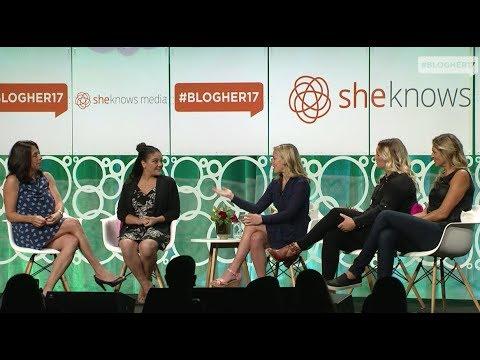 BlogHer17 - Winning Women - Laurie Hernandez, Gabrielle Reece, Dani Rylan, Jessi Miley-Dyer