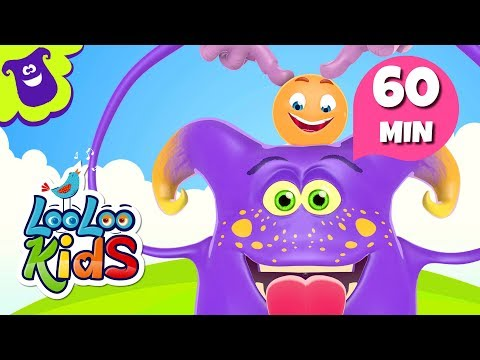 Head, Shoulders, Knees and Toes - Awesome Songs for Children | LooLoo Kids