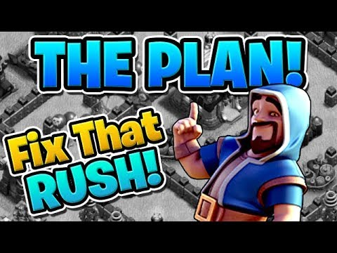 THE PLAN TO FIX MY RUSHED BASE! - Fix That Rush Ep.1 -
