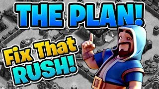 """THE PLAN TO FIX MY RUSHED BASE! - Fix That Rush Ep.1 - """"Clash of Clans"""""""
