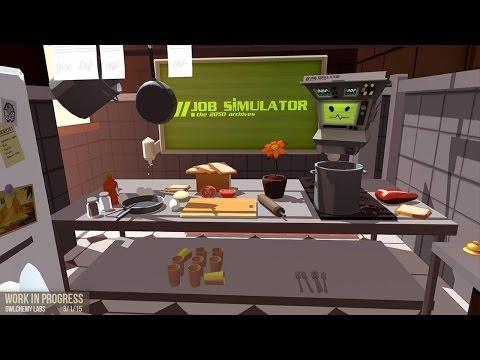 let's play Job simulator(alpha version)