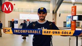 Diego Reyes llega a Monterrey para fichar con Tigres