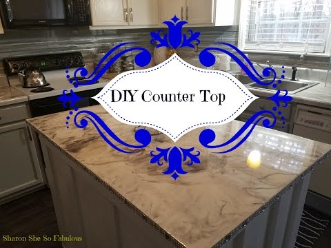 DIY  Epoxy Counter Tops:  Leggari Products