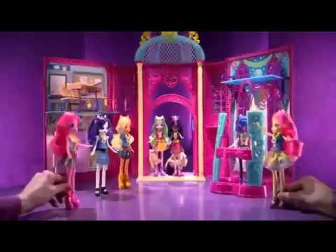 Игра Девушки Эквестрии Игры Дружбы Соур Свит School