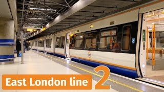 London Overground trains on the East London line – Part 2