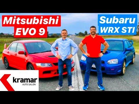 WRX STI vs EVO 9 - 1 na 1 - Juraj ebalj i Miroslav Zrnevi