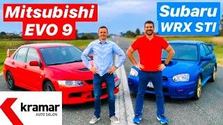 WRX STI vs EVO 9 - 1 na 1 - Juraj Šebalj i Miroslav Zrnčević