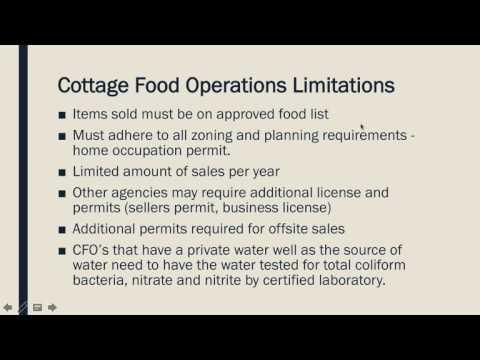 Cottage Food Law : Trending Topics