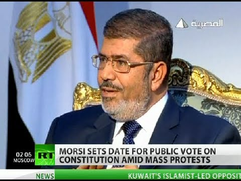 Vox Populi: Egyptians to vote on Morsi's constitution