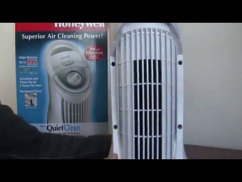 Honeywell HFD-110 QuietClean Tower Air Purifier Review