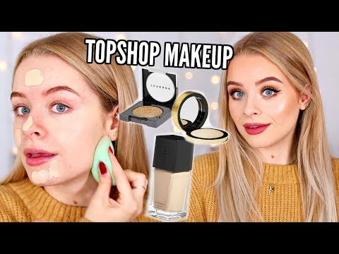 FULL FACE NEW TOPSHOP MAKEUP!! EVERYTHING UNDER 拢16 AD | sophdoesnails