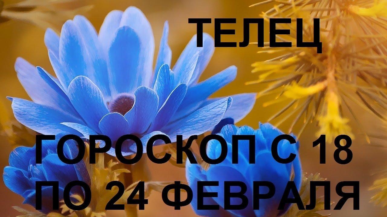 ТЕЛЕЦ Таро гороскоп с 18 по 24 февраля гадание онлайн