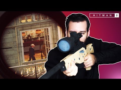 The Situation Is CONTAINED! (Hitman 2 Sniper Assassin Co-op)