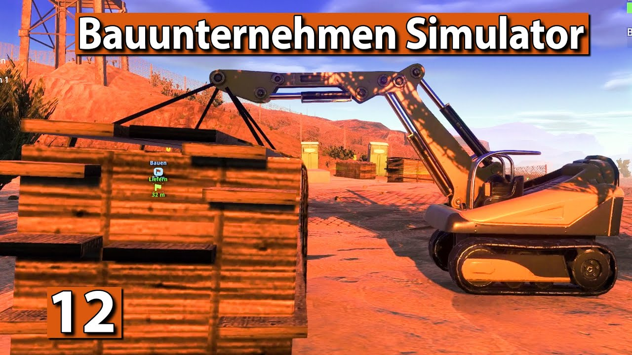 bauunternehmen simulator goldmine bauen 12 demolish. Black Bedroom Furniture Sets. Home Design Ideas