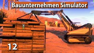 BAUUNTERNEHMEN SIMULATOR 🏗️ GOLDMINE bauen ► #12 Demolish And Build 2018 deutsch