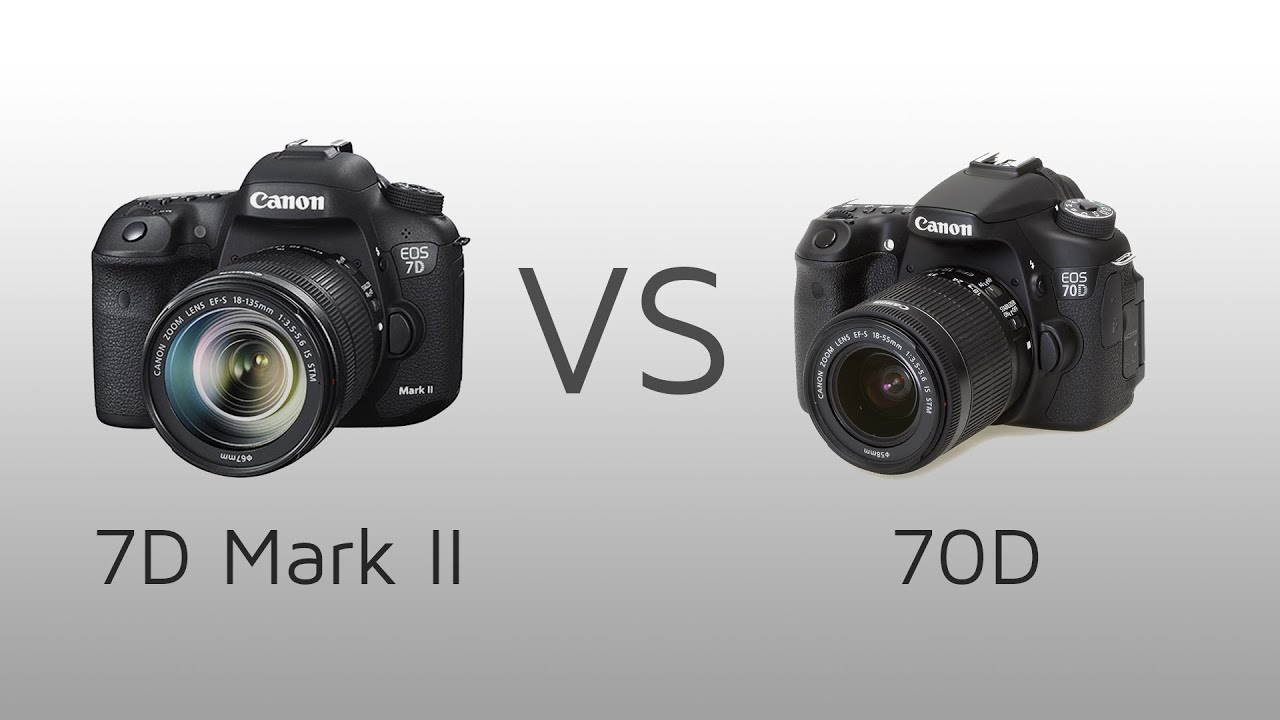 canon 70d vs 7d mark 1