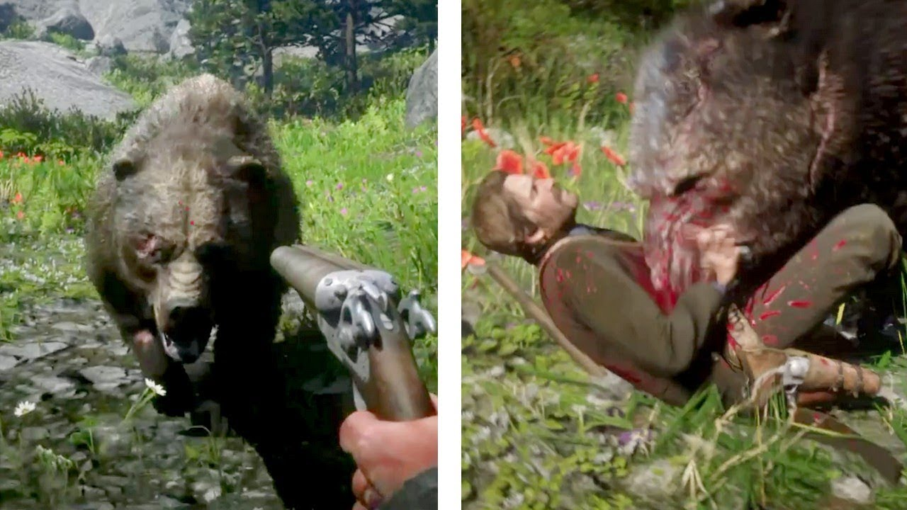 Getting ATTACKED by every Animal in RDR2