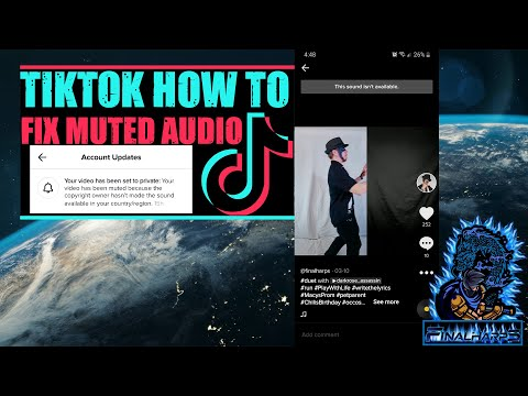 Tiktok Muted My Video This Is How To Get Around It. Sound Not Available?