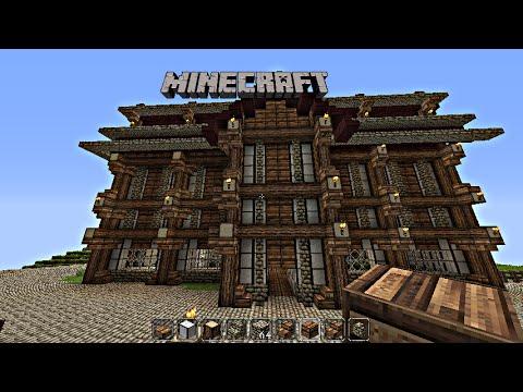 Raybass minecraft tutorial mittelalter haus bauen 2 seht for Haus bauen preiswert