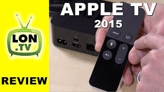 Apple TV 4th Generation (2015) Review - Plex, gaming, Siri, and playback