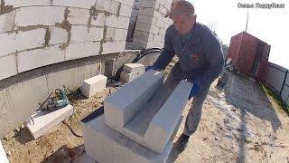 видео Использование в строительстве газобетонных блоков