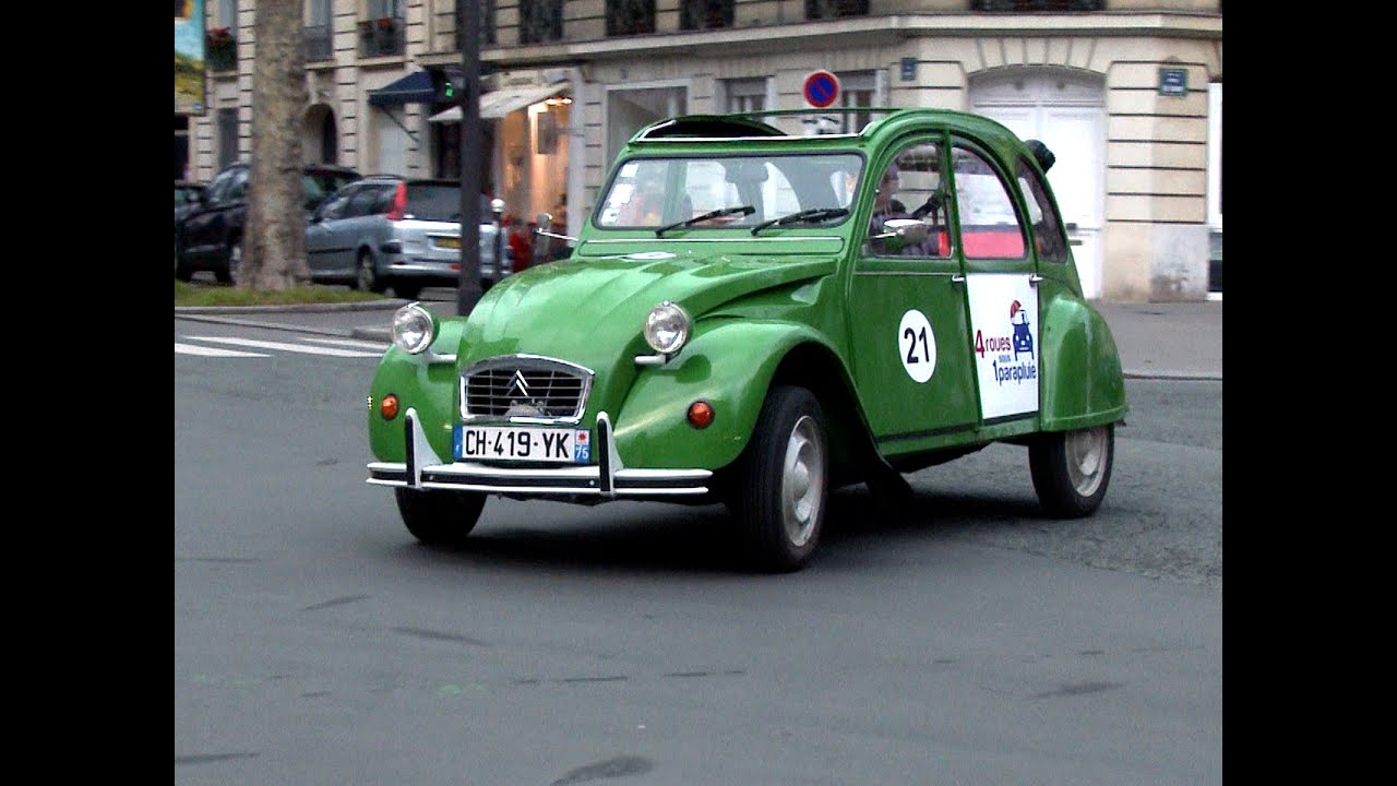 citroen 2cv electric