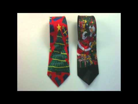Christmas Theme Santa Ties