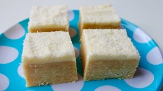 How To Make Coconut Lemon Slice