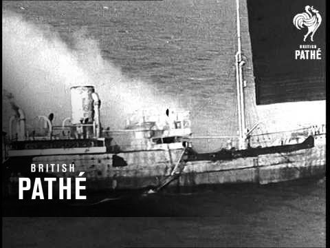 Axis Crews Scuttle More Ships (1941)