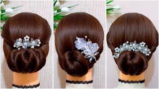 Как сделать пучок на длинные волосы 11 способов Красивые прически пошагово