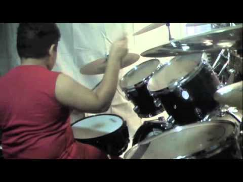Max Unger - 9 Year Old Drummer free jam