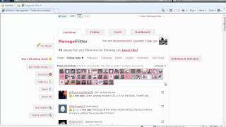 Quickly Unfollow On Twitter With ManageFlitter