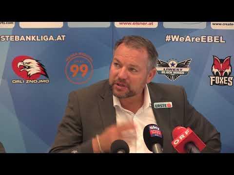 Pressekonferenz der Erste Bank Eishockey Liga/Champions Hockey League beim EBEL-Mediaday 2017