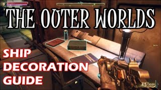 the-outer-worlds---all-ship-room-decoration-locations