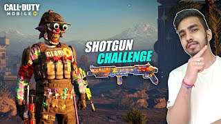 ONLY SHOTGUN CHALLENGE | SOLO VS SQUAD | COD MOBILE