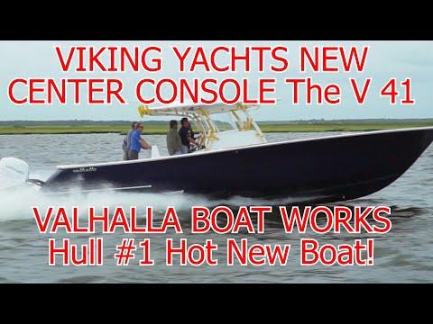 Valhalla V 41 Center Console From VIKING YACHTS       New Boat       Company       Hull #1