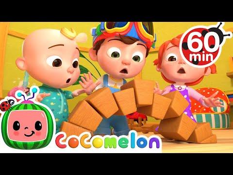 London Bridge Is Falling Down + More Nursery Rhymes & Kids Songs - CoComelon