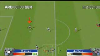 PSX Super Shot Soccer GamePlay