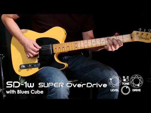 BOSS SD-1W Super OverDrive Sound Preview